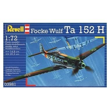 Revell Revell Maket Seti 1:72 Focke Wulf Ta 152 H Renkli